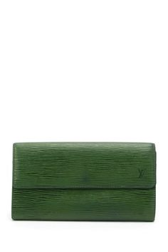 Vintage Louis Vuitton Leather Long Wallet on HauteLook