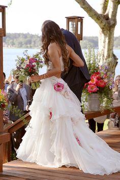 Show Me Your Mumu bohemian lakeside wedding: Cammy and Nick - 100 Layer Cake