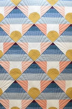 Mountain Horizon Quilt Pattern - Welcome to our website, We hope you are satisfied with the content we offer. Hanging Quilts, Quilted Wall Hangings, Quilt Baby, Patchwork Quilting, Patchwork Ideas, Patchwork Designs, Modern Quilting Designs, Modern Quilt Patterns, Owl Patterns