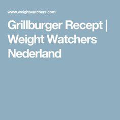 Grillburger Recept | Weight Watchers Nederland