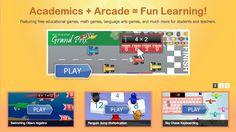 FREE grade level math & spelling games by grade level.  GREAT SITE!  http://www.arcademicskillbuilders.com/