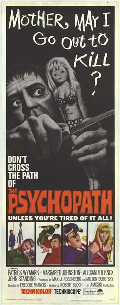 Best Film Posters : The Psychopath (1966)