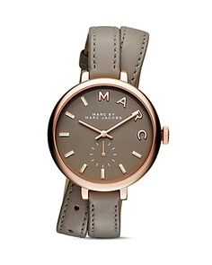 MARC BY MARC JACOBS Sally Leather Strap Wrap Watch, 36mm - 100% Bloomingdale's Exclusive   Bloomingdale's