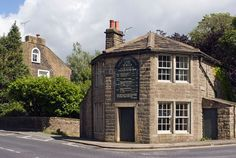 Turnpike Trusts and the Transportation Revolution in the Eighteenth Century by Dan Bogart, 2004. (Image is Turnpike Toll House in Barrowford, Lancashire, England.)