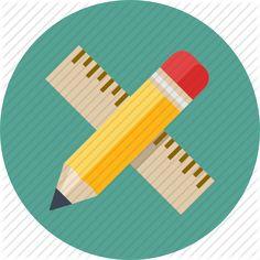 draw, education, education icon, math, math lessons, mathematics, measure, pencil, ruler, scale, school, write, writing icon