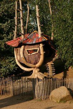 Unusual tree house