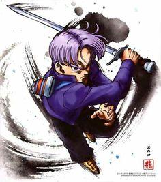 Dragon Ball Shikishi Art Collection Future Trunks
