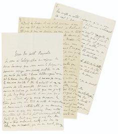 proust, marcel lettre autographe sig | letters | sotheby's pf1603lot8t6ssen