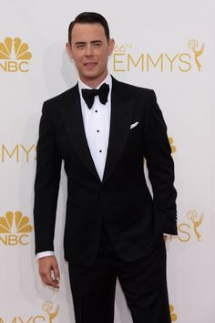 Could Colin Hanks look any more like his dad? #Emmys2014