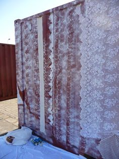 Lace shipping container | Flickr - Photo Sharing!