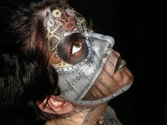 click to see more!  ana arthur make-up artist: Steampunk