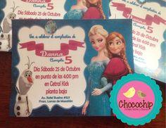 invitaciones frozen
