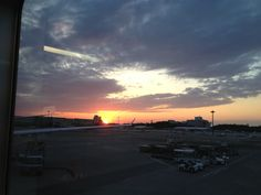 Sunset at Narita Airport