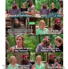 Duck dynasty season four. Willie Robertson quotes.  Bakery