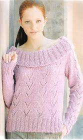 Delicadezas en crochet Gabriela: 38 Prendas tejidas paso a paso Pullover, Knitting, Sweaters, How To Wear, Fashion, Tricot, Knit Wrap, Sweater Knitting Patterns, Sweaters Knitted
