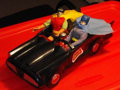 Superheroes 1970's mego batmobile