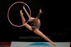 Viktoria MAZUR (Ukraine) ~ Hoop @ GP Thiais 2016  Photographer  Bernd Thierolf.