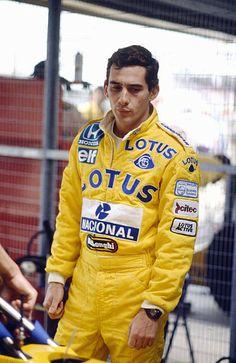 July 1987 British Grand Prix at Silverstone Brazil's Ayrton Senna Ayrton Senna won the Formula One World Championship three times 1988 1991