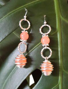 semi precious jewelry / Orecchini con pietre semipreziose di giada
