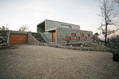 House on a Hill by Oficina d'Arquitectura/Serra de Freita Portugal
