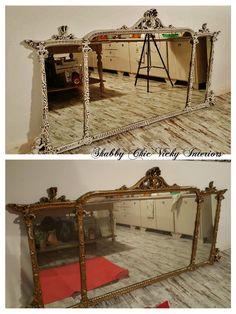 Restyling Specchiera Shabby Chic Vicky Interiors