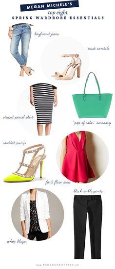Ashlee Proffitt: Top 8 Spring Wardrobe Essentials