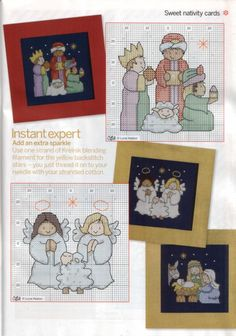 Sweet Nativity Cards 1 of 2