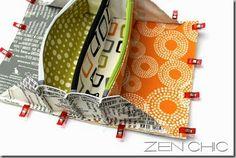 Cosa juntos bolsa, Carrete Tiem, Zen elegante