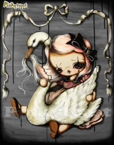 11x14Gothic Mother GooseTangled up in Fairy TalesBig by pinkytoast, $34.00