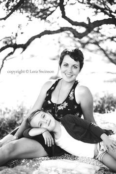 Love this mother and daughter photo I would need one of the girls looking over my shoulder and then it would be perfect