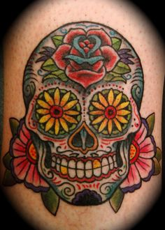 Day of the Dead... if only I were more brave!  ;)