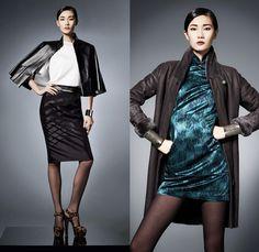Women Print FW 2014   Shanghai Tang 2013-2014 Fall Winter Womens Lookbook Collection ...