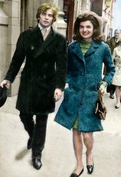 Jackie Kennedy with Rudolf Nureyev