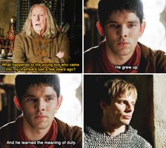 Merlin - I cannot save the life of a man destined to kill Arthur.