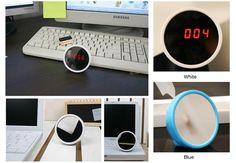 Banana Dot Mirror Alarm Clock [MirrorAlarmClock] - HK$48 : Bananadot Online store, Free Template by Picaflor Azul Zen Cart Design