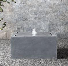 "32"" Plinth Fountain | Restoration Hardware"