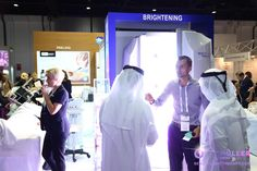 Grand Dr.Müller Beauty Light Therapy introduction at Beauty World Middle East 2016 in Dubai