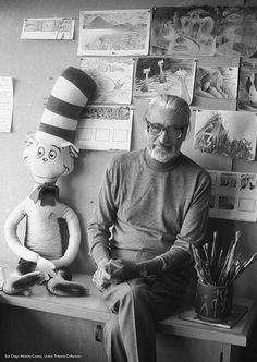 Ingenious, Imaginative World: Dr. Seuss' san Diego Life / Ted Geisel with drawings, 1976 The Zoo, Dr. Seuss, Elementary Shenanigans, Creators Project, Animal Bones, New York, Famous Artists, Book Activities, Childrens Books