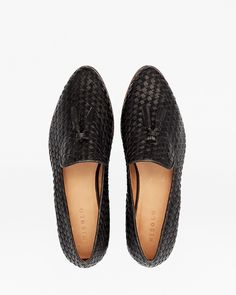 Frida Woven Loafer Black by Nisolo