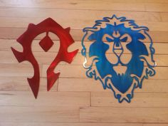 WORLD of WARCRAFT Alliance and the Horde by StraightEdgeMetalArt