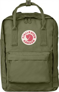 895c06b9ea97 Fjallraven Kanken 13 Backpack FEATURES of the Fjallraven Kanken 13 Backpack  Laptop version of our best-selling Kanken daypack A padded compartment  protects ...