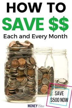 Learn how to save money each month. These are the top 5 saving money tips to make sure you can find success quickly. Pick one of the challenges to improve your budget. Money Saving Meals, Best Money Saving Tips, Money Tips, Money Hacks, Savings Challenge, Money Saving Challenge, Save My Money, Ways To Save Money, Frugal Living Tips