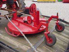 diy trail mower    Farmall Cub • View topic - New Cub-Strange Mower