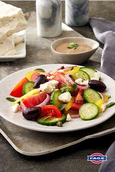 A creamy twist on Greek salad dressing.