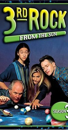 Created by Bonnie Turner, Terry Turner.  With John Lithgow, Jane Curtin, Kristen Johnston, French Stewart. A group of aliens are sent to Earth, disguised as a human family, to experience and report life on the 3rd planet from the sun.