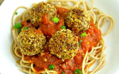 Lentil Quinoa Hemp Seed Meatballs [Vegan, Gluten-Free] - One Green PlanetOne Green Planet Vegan Quinoa Recipes, Lentil Recipes, Vegetarian Recipes, Healthy Recipes, Vegan Food, Quinoa Vegan, Cooked Quinoa, Polenta Recipes, Raw Recipes