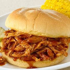 Slow Cookers Pulled Chicken