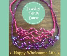 DAY 59 of #BestOf100HappyBusinessBuildingDays :  THIS PHILANTHROPIC IDEA AND THOUGHT HAS LIVED WITHIN ME SINCE 2006  And now it is finally realized through 'Jewelry For A Cause' within business container Happy Wholesome Life.   Every necklace that gets custom ordered and then custom made by yours truly is a donation ( That is the money paid for the necklace) to any of these 3 causes here in Albany, Georgia, where I live.  Albany Humane Society Liberty House Faith & Community Outreach