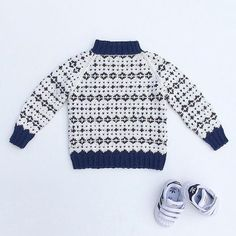 Ravelry: Noragenseren pattern by Pia Marlene Øye Amundsen Knitting For Kids, Knitting For Beginners, Baby Barn, Fair Isle Pattern, Learn How To Knit, Boys Sweaters, Sweater Knitting Patterns, Kids Wear, Boy Fashion