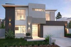 full size of modern house plans ideas houses design bungalow new homes decorating gorgeous i villa Modern Exterior, Exterior Design, Exterior Colors, Grey Exterior, Storey Homes, Facade House, Modern House Design, Modern House Facades, Home Fashion